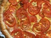 Tarte thon, tomate moutarde