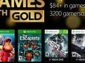 Games With Gold jeux d'Octobre 2016