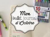 Bullet Journal mois d'Octobre 2016