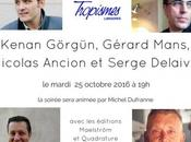 Quatre Liégeois prennent Bruxelles d'assaut octobre
