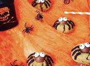 Biscuits araignées pour Halloween