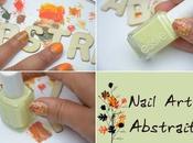 Nail Abstrait couleurs l'Automne