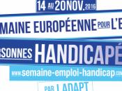semaine Européenne l'Emploi Handicap dans starting blocks