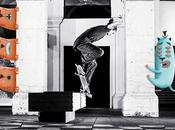 Dessin personnages skateboard Mickael Brana