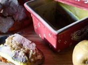 Terrine foie gras poires caramelisees