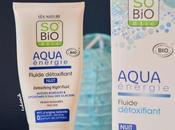 So'Bio Etic Aqua Energie, fluide PARFAIT pour détox nocturne