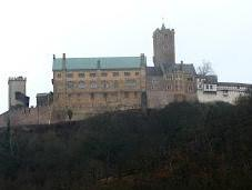 château Wartburg Eisenach (1): historique vues extérieures