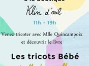 [EVENT] tricots bébé Mlle Quincampoix chez Klin d'oeil