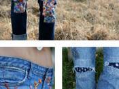 idées créatives pour repriser jean