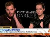 Nouvelle interview Jamie Dornan Dakota Johnson Dans Sunrise Vidéo Traduction
