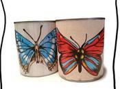 boîtes papillons pour faire venir printemps