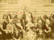 photographie compagnons l'Union Compagnonnique Devoirs Unis (Cognac Angoulême vers 1890.