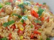 Risotto poulet poivrons thermomix