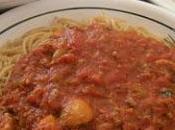Spaghetti sauce viande