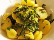 Salade fleurs choux pommes terre (Vegan)