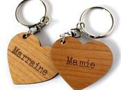 porte-clés personnalisés forme cœur Commandez vôt...
