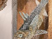 Focus sculpture aborigène exposée l'aquarium Paris jusqu'au août 2017