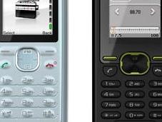 Sony Ericsson J132 K330 mobiles pour rester facilement contact avec communauté
