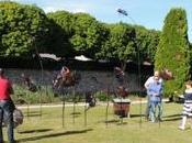 exposition sculptures contemporaines Château Gilly Citeaux
