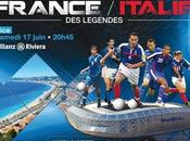 Rediffusion match football France italie légendes replay streaming