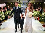 Messi Antonella Roccuzzo sont mariées