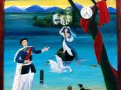 Louis l'île roses, tableau naïf Sylvia Engelmann