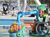 Etats-Unis ouverture d'un parc aquatique dédié enfants handicapés