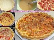 Tarte Tomate Jambon Bayonne