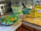 tonic Québecois salade grec improvisée!