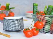 Mini légumes croquants Sauce coco-menthe