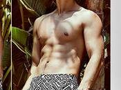 SEXY Ross Butler Onia swim shorts