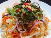 Salade poulet chou blanc (Gỏi cải)
