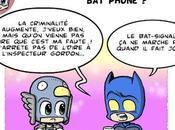 Mouette Batman dans bistrot