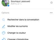 Changer couleur Facebook Messenger