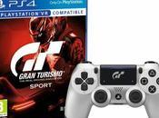 [expiré] Plan Manette DualShock Silver Sport Gran Turismo