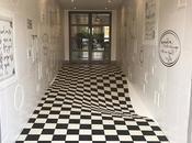 incroyable illusion d'optique partir carreaux céramique