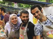 Concept food coup coeur Cuistots migrateurs