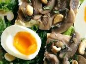 Salade d'automne champignons
