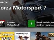 Xbox mise jour pour l'hiver