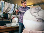 studio Bellerby Globemakers globes terrestres fabriqués main Artisanat