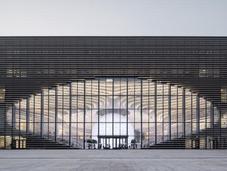 Cette bibliothèque futuriste renferme million livres!