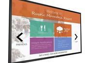grand écran tactile Philips avec gestion avancée contenu