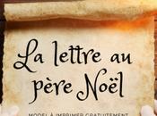 lettre père Noël Imprimer {Gratuit}