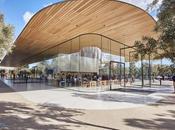 L'Apple Park Visitor Centre ouvre portes public