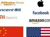 Chine numérique s'est éveillée vers combat digital entre Etats-Unis
