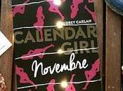 Calendar Girl: Novembre Audrey Carlan