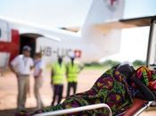 difficiles évacuations sanitaires blessés balle Soudan