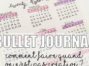 Bullet Journal comment faire quand n'est créative