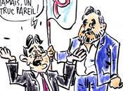 Caricature Pen-Mélenchon