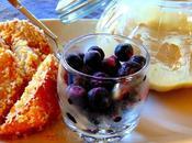 Frites poires panko avec trempette érable tahini